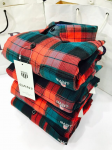 GANT Red and blue Checks Casual Shirt Size - XXL