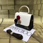 Jimmy Choo Black & White Mini Bag