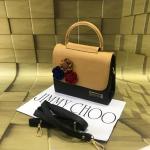 Jimmy Choo Beige & Black Mini Bag