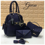 Guess Back Pack Top Quality Tortilla Berry Blue 3 Pcs Combo