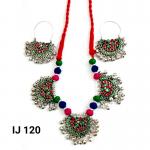 Oxidized Multicolored Women's Necklace