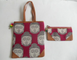 Kalamkari Bags Pink Combo Pack of Two