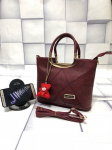 Jimmy Choo Best Price Offer Top Quality Hand Bag Maroon
