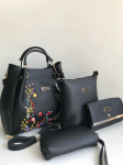Jimmy Choo Imported Bag 7 A Quality Imported Material 4 Pcs Combo Black
