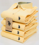 U.S. Polo Assn. Dafodil Yellow Shirt - Size L