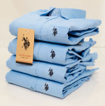 U.S. Polo Assn. Sky Blue Shirt - Size XL