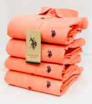 U.S. Polo Assn.Orange Shirt - Size M