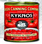 Kykos Dices Tomatoes in Tomato Juice