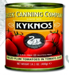 Kyknos Peeled Plum Tomatoes in Tomato Juice