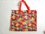 Waterproof Vegetable Bag With Chain Red