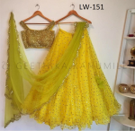 Navratri Special - Embroiedary Work Lehenga And Choli LW - 151.