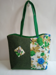 Designer Jute Bag Green