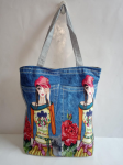 Female Jeans Shoulder Bags
