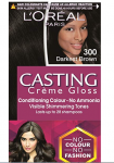 L'Oreal Casting Creme Gloss, Darkest Brown 300 Hair Colour