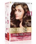 L'Oreal Paris Excellence Creme Hair Color, 4.25 Aishwarya's Brown, 72ml+100g