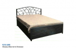 Double Bed With Storage K.B. 1102.