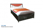 Double Bed With Storage K.B. 1105.