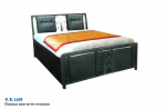 Double Bed With Storage K.B. 1108.
