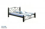 Double Bed With Storage K.B. 1126.