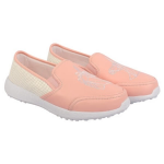 KazarMax Kids Faux Leather Pink Unicorn Slip-On Sneakers Ke001 Size-33.