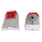 KazarMax KIDS Lifestyle Shoes KF009NV-GREY RED Size-32.