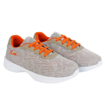 KazarMax KIDS Lifestyle Shoes KF009NV-GREY ORANGE Size-36.