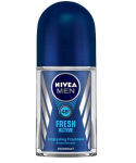 NIVEA MEN Deodorant Roll-on, Fresh Active Original