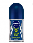 Nivea Men Fresh Power Deodorant Roll-on - For Men