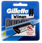 Gillette Wilman II Cartridges 5 Pcs