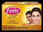 Fem Bleach Cream (Gold)