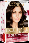 Loreal Excellence (3 Natural Darkest Brown) (M)