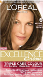 Loreal Excellence (6 Nat L Brown) (M)
