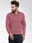 Mayra Classy Stylish Cotton Printed Men's Shirts Vol 19 S-2853277 Size: 36 in.