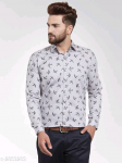 Mayra Classy Stylish Cotton Printed Men's Shirts Vol 19 S-2853283 Size: 36 in.