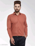 Mayra Classy Stylish Cotton Printed Men's Shirts Vol 19 S-2853285 Size: 42 in.