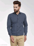 Mayra Classy Stylish Cotton Printed Men's Shirts Vol 19 S-2853294 Size: 40 in.