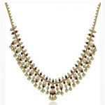 Marathe Jewellers Pearl & Coral Necklace 001