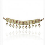Marathe Jewellers Pearl & Coral Necklace 003