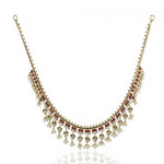 Marathe Jewellers Pearl & Coral Necklace 0011
