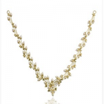 Marathe jewellers Pearl & Coral Necklace 0012