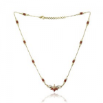 Marathe jewellers Pearl & Coral Necklace 0013